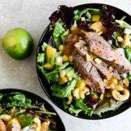 Thai Steak Salad recipe by How Sweet It Is
