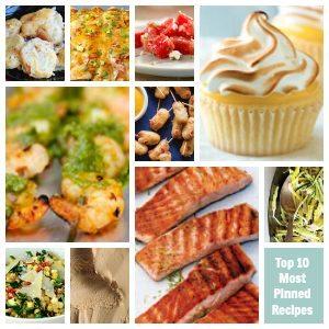 Top 10 Most Pinned Recipes on Pinterest via Ziplist