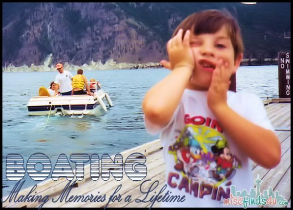 Summer Family Boating Trips  - Sponsored #discoverboating