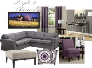 Refresh Your Space With Color – Try Purple! @Kohls