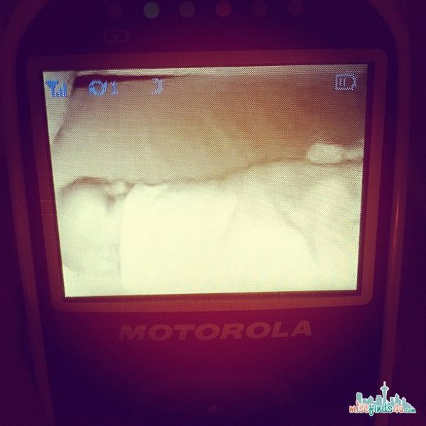 Motorola BP26 video monitor  it's one of the greatest parenting tools I own.