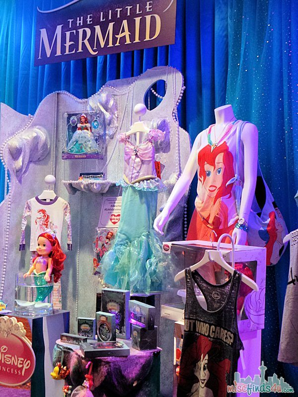 Disney Store Exclusives: Little Mermaid #iheartariel #littlemermaidevent