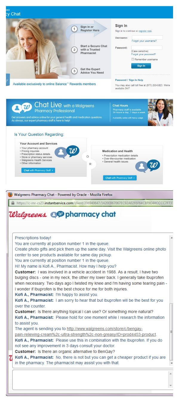 Answers at Walgreens Pharmacy Chat - #WalgreensAnswers #shop #cbias