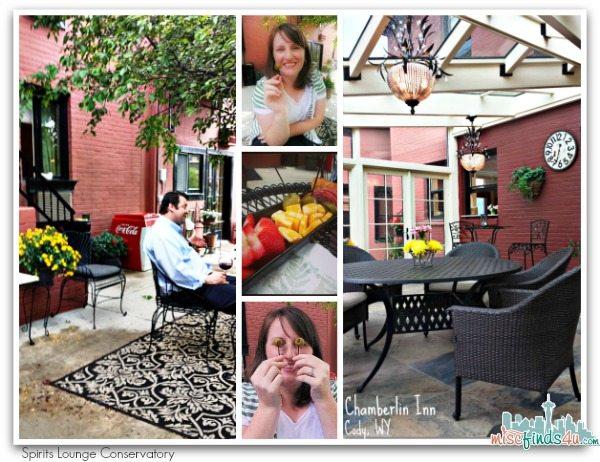 Chamberlin Inn Spirits Lounge Conservatory