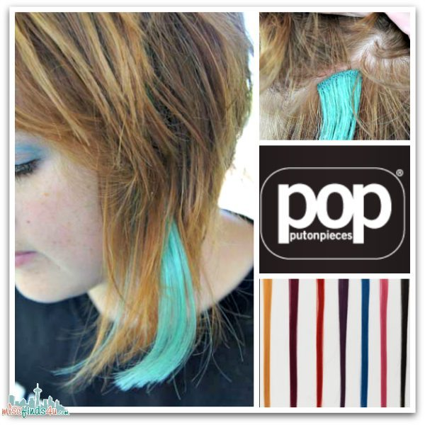 POP Clip-In hair extensions by HairUWear - Ad