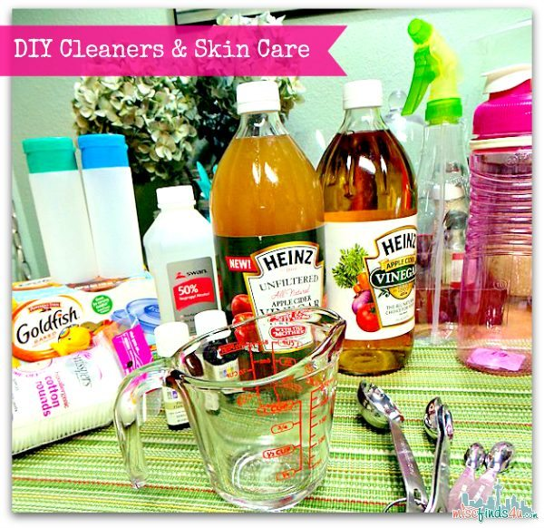 Apple Cider Vinegar - Top 5 Uses  DIY Cleaners and skin care recipes #HeinzVinegar @HeinzVinegar Sponsored