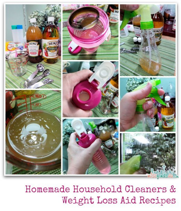 DIY Household Cleaners and Weight Loss Aid #HeinzVinegar @HeinzVinegar Sponsored