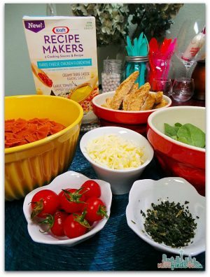Kraft Recipe Makers - Add your own fresh meat and veggies #RecipeMakers Ad