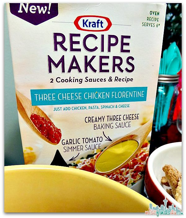 Kraft Recipe Makers Cooking Sauces -  #RecipeMakers Ad