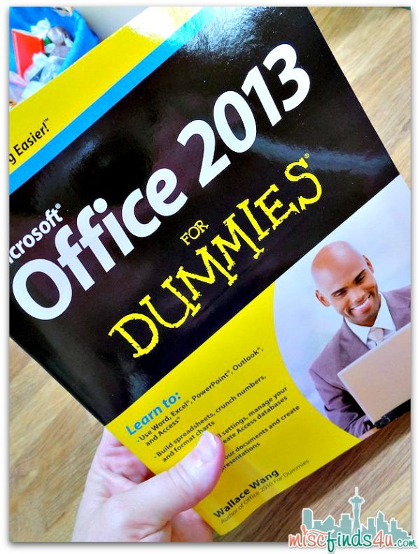 Microsoft Office 2013 for Dummies - Ad