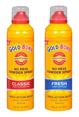 Gold Bond No Mess Powder Spray – My Experience