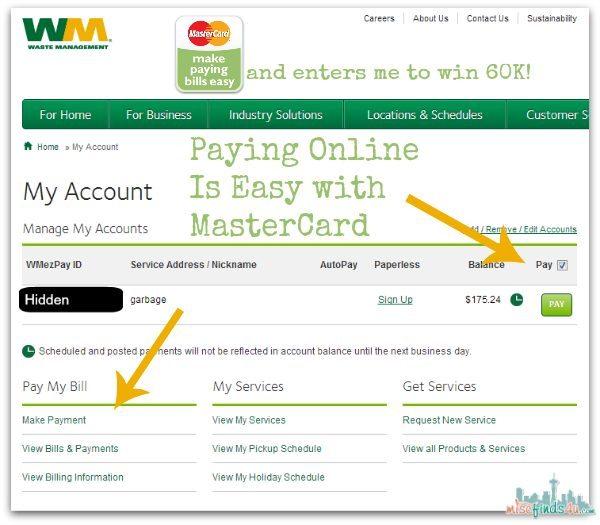 Pay Bills Online With MasterCard @mastercard #billpay #mc