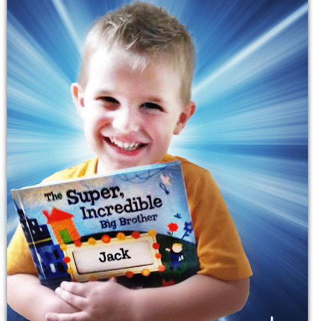 Personalized Big Brother / Sister Books from I See Me