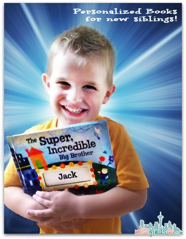 Jack loves his Personalized Big Brother from I See Me - Ad