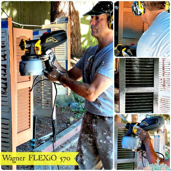 Wagner FLEXiO 570 Paint Sprayer – Painting Made Easy