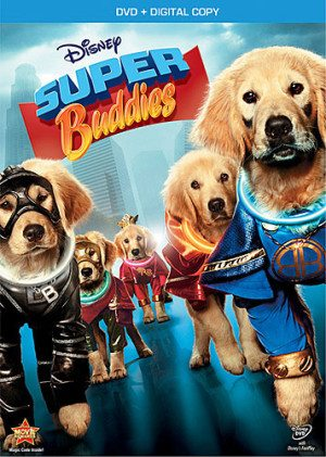 Super Buddies on Blu-Ray and DVD