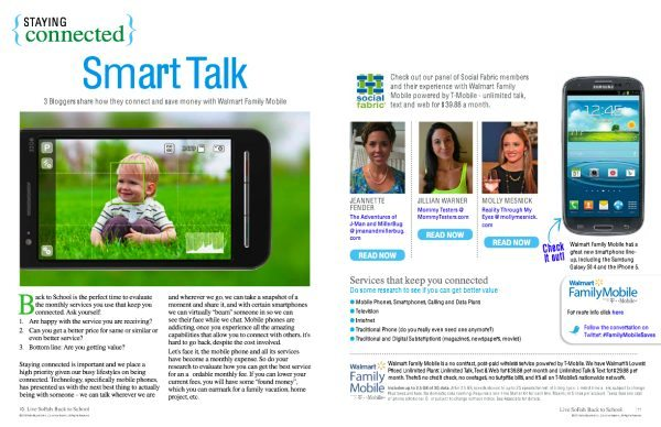 Walmart Family Mobile Smart Talk