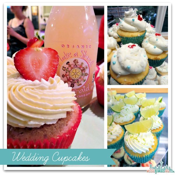 Wedding Cupcakes - Strawberry Lemonade, Margarita, and Coconut - Recipes
