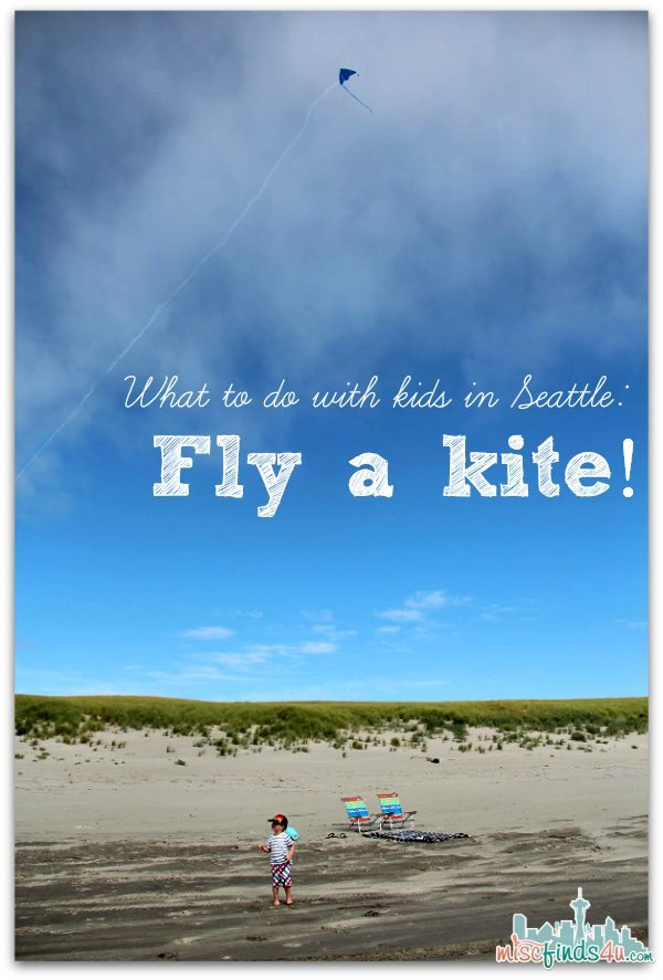 What to do with Kids in Seattle - Fly a kite