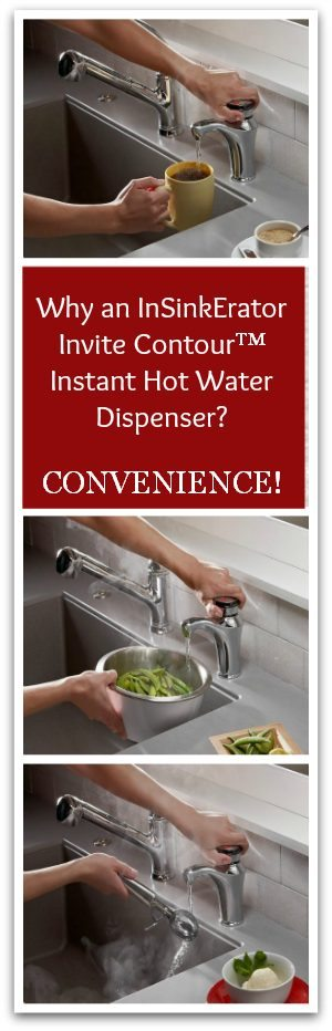 Why an InSinkErator Invite Contour Instant Hot Water Dispenser