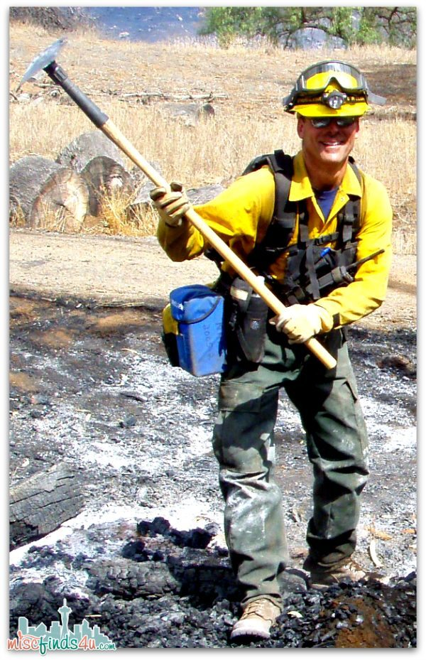 Wildland Fire Fighting - Its Hot and Sweaty Work -