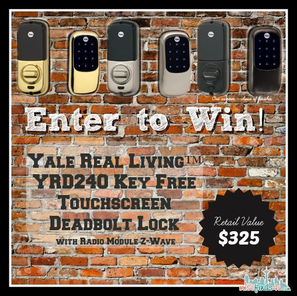 Win a Yale Keyless Lock