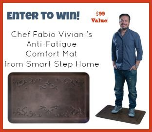 Win-an-Anti-fatigue-Kitchen-Mat from Fabio