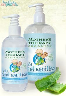 Safely Sanitize with Mother's Therapy Organics