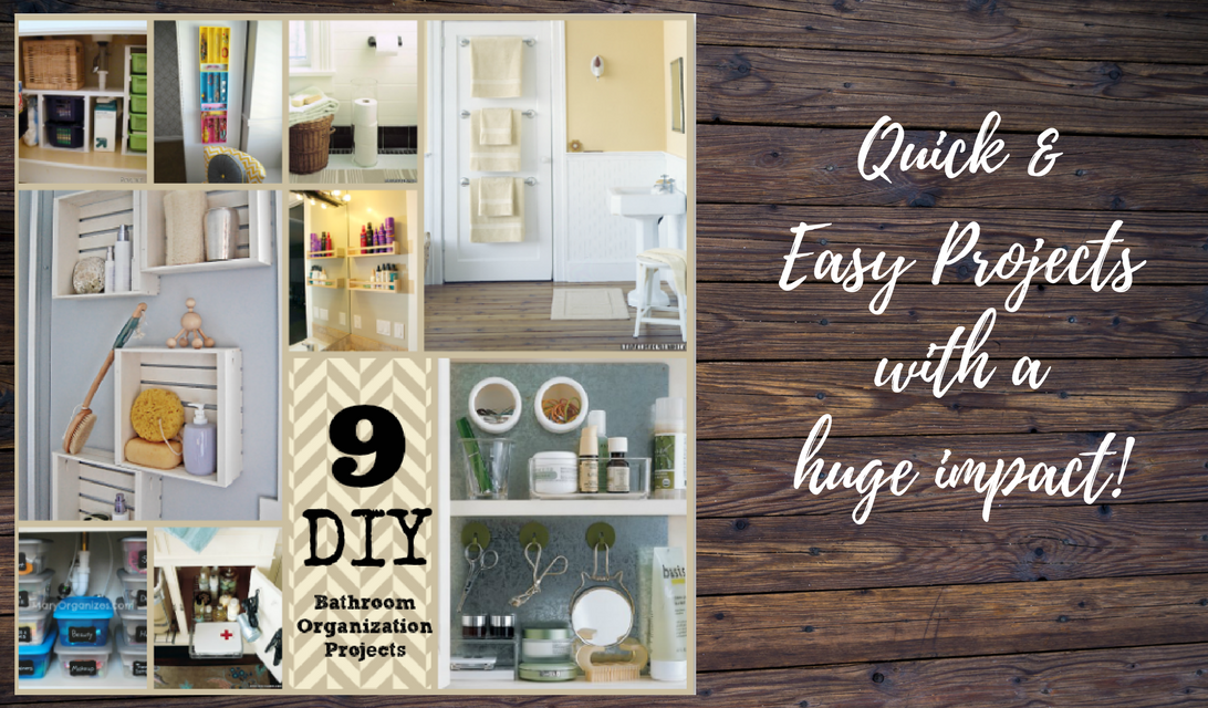 Bathroom Organizing Ideas - DIY Organization