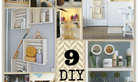Bathroom Organization – Easy DIY Projects