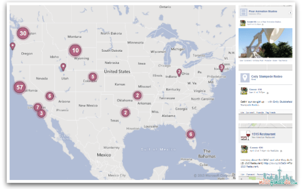 Blogging – My Virtual Scrapbook Map
