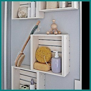 DIY Wall Crates by HGTV