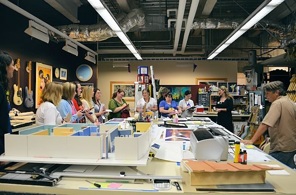 Disney Animation Research Library Workroom - Photo credit  Disney #littlemermaidevent
