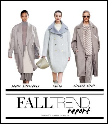 Fall 2013 Trends - Coats and Outerwear  - but will REAL women wear? Photo Credit: Stylecaster.com