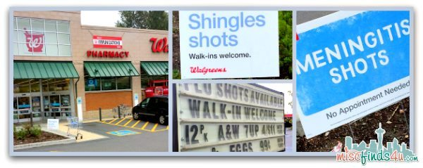 Flu Shots and other routine vaccinations and immunizations are available at Walgreens - #shop #cbias #GiveAShot