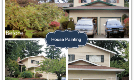 DIY Home Projects – House Painting Completed