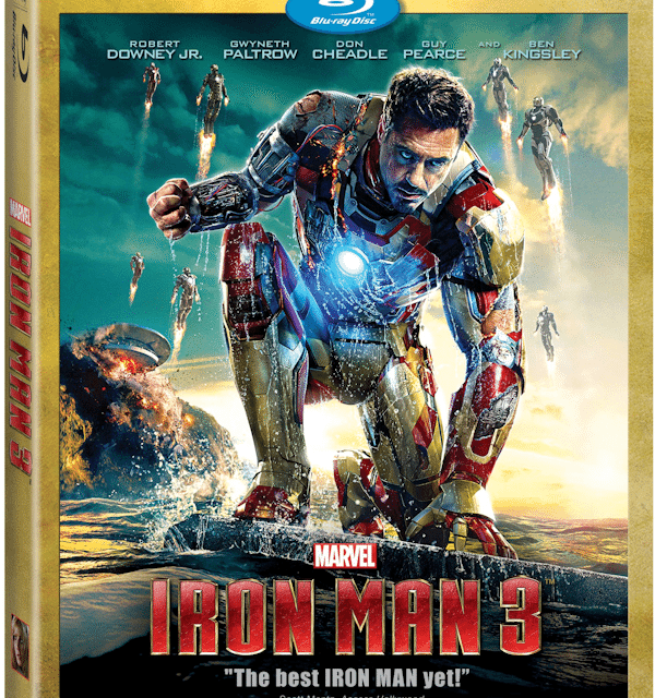 Iron Man 3 Bonus Clips and Blu-Ray Release Info