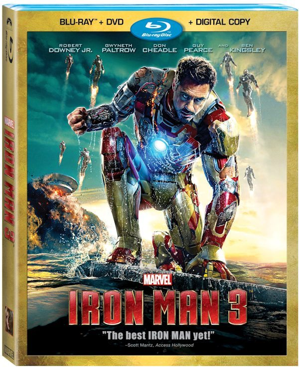 Iron Man 3 Blu-ray Combo - ad