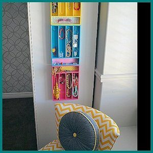 Jewelry Organizer by Tater Tots and Jello