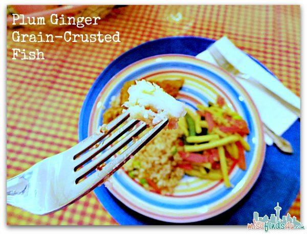 Plum Ginger Grain-Crusted Fish - Lean Cuisine Honestly Good Frozen Meals at Walmart #EatHonestly #shop #cbias
