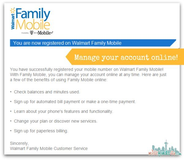 Manage Your walmart Family Mobile Account Online - #FamilyMobileSaves, #cbias #shop