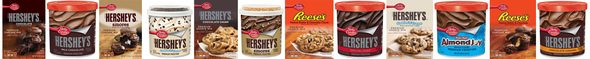 New Betty Crocker and Hersheys mixes and frostings