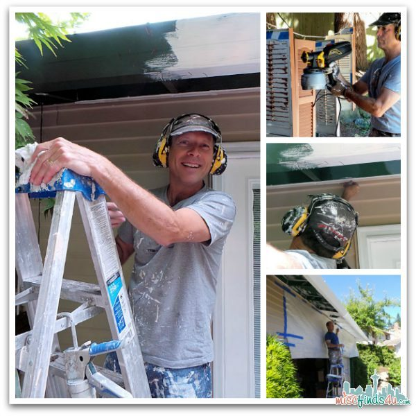 DIY Home Projects: Painting the House - Summer 2013 - My personal house painter!