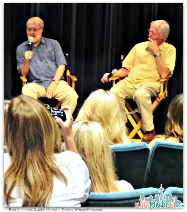 Ron Clements and John Musker Disney Writers and Directors - Little Mermaid Diamond Edition Release - #LittleMermaidEvent Ad