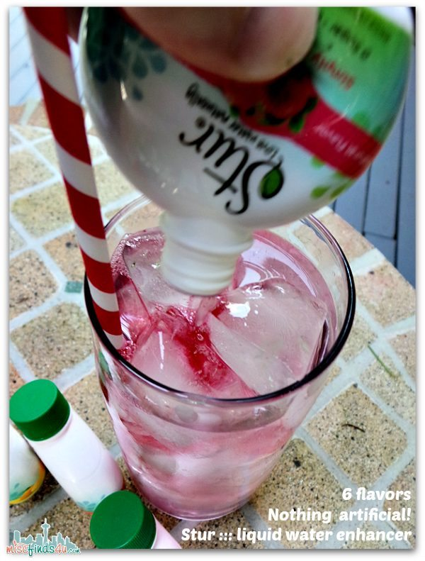 Stur Water Enhancer - Delicious and natural - Ad