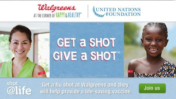 Walgreens Joins Shot@Life to provide free vaccines - #shop #cbias #GiveAShot