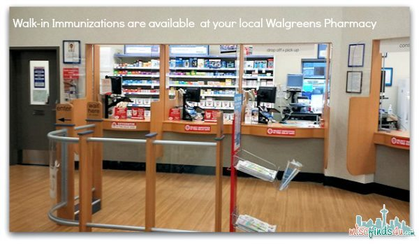 Walk-in Immunizations are available at many Walgreens stores - #shop #cbias #GiveAShot