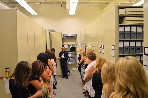 Disney Animation Research Library Climate-controlled Vault - photo credit Disney