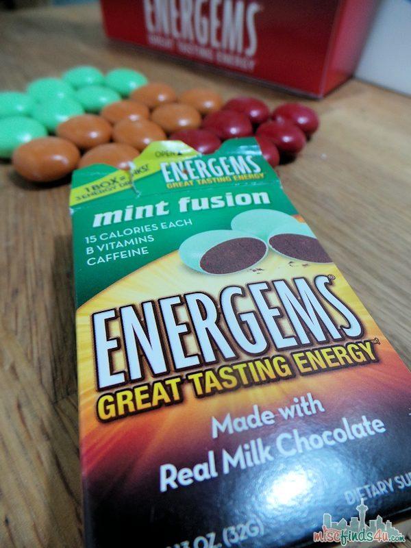 Energems - Energy Shot Alternative - caffeine  and B-vitamins #energems #ad