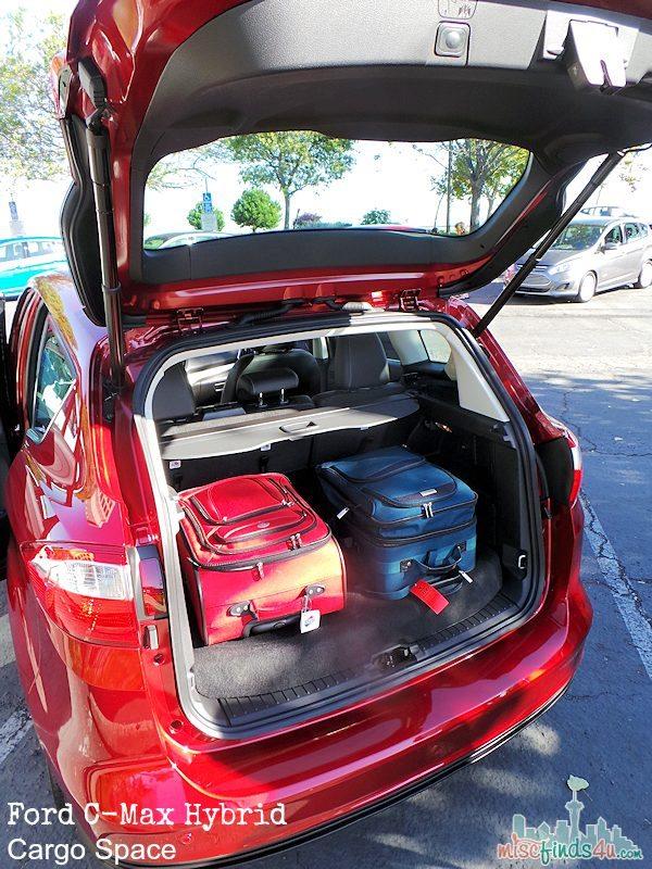 2014 Ford C-MAX Hybrid Car - Cargo Space  - ad   #cmaxdrive